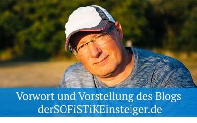 Vorwort und Vorstellung des Blogs  derSOFiSTiKEinsteiger.de