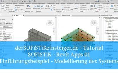 SOFiSTiK Revit Apps 01 - Einführungsbeispiel - Modellierung des Systems, (Foto copyright - Frank Weber - Berlin - fotologbuch.de)