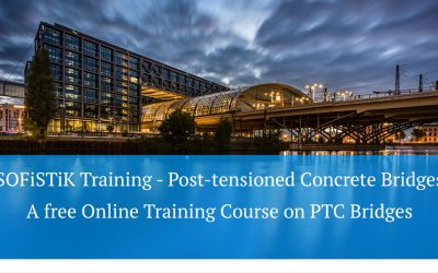 SOFiSTiK Training - Post-tensioned Concrete Bridges, a free Online Training Course